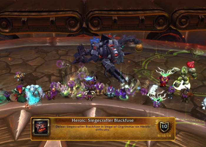 Heroic Siegecrafter Blackfuse