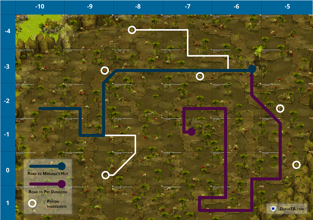 Swamps Map
