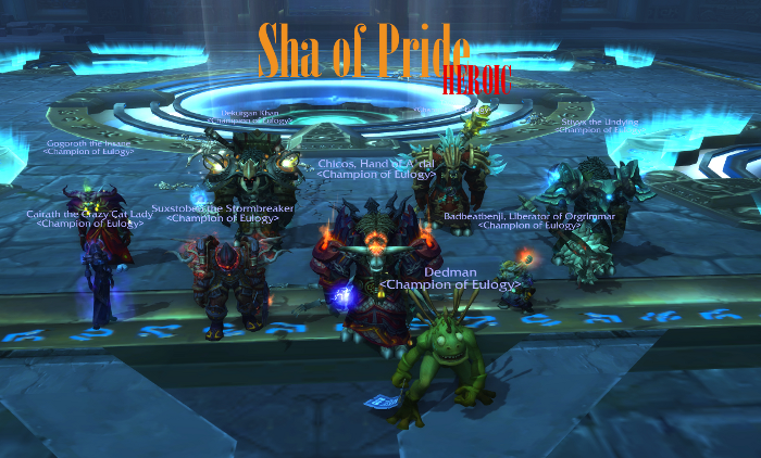 Sha of Pride heroic