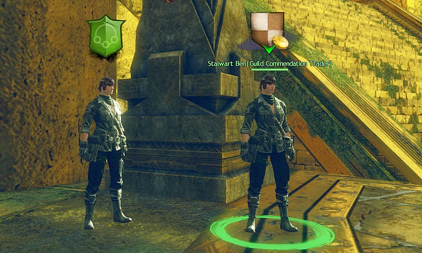 new npc in Guild Hall
