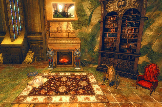 new items in fireplace lounge