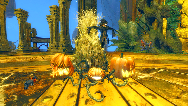 hallowe'en decorations for the guild hall