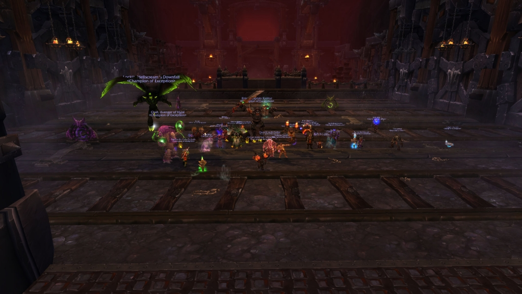 Thogar Mythic Kill