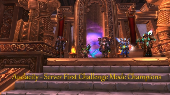 Server First - Challenge Mode Gold