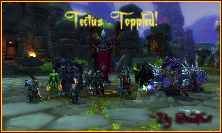 Tectus Topples