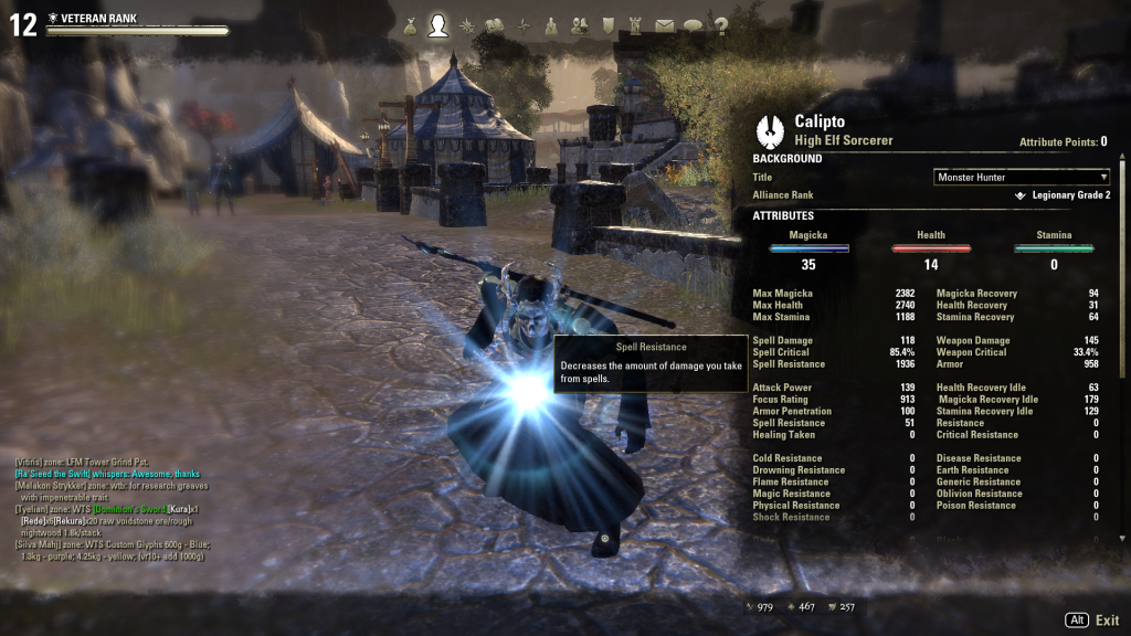 Sorcerer Set for 1 3   An Elder Scrolls Online Community and