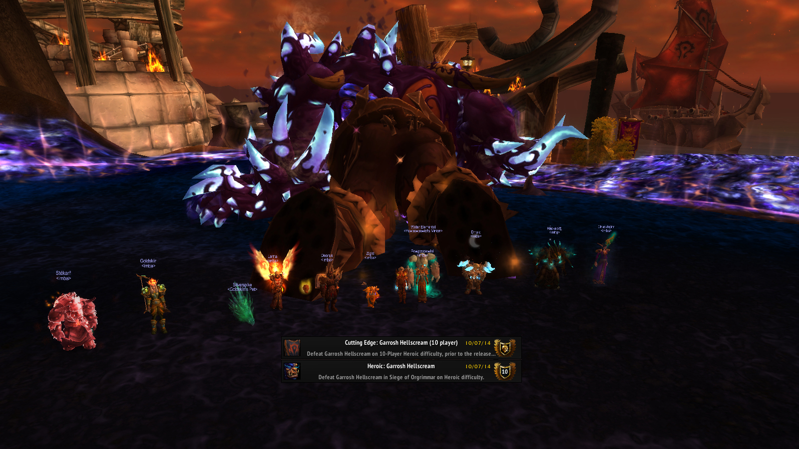 Garrosh 10M HC First Kill!