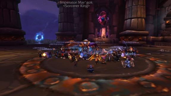 Sorcerer King Down!