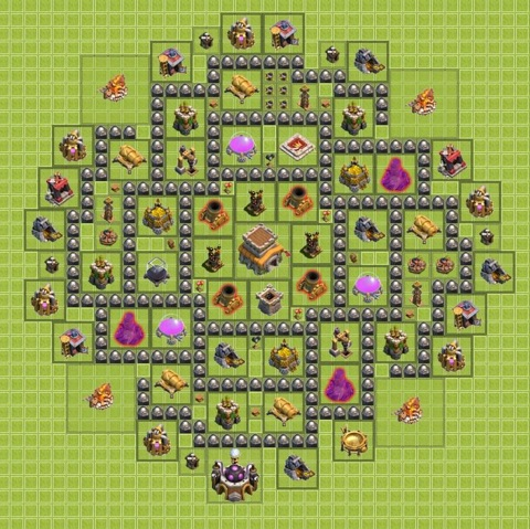 TH8 War Base