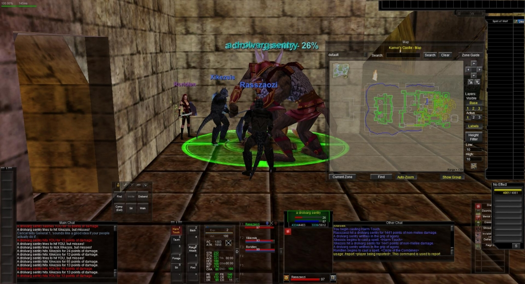 Harm Touch Recourse - Not Working | EverQuest Forums