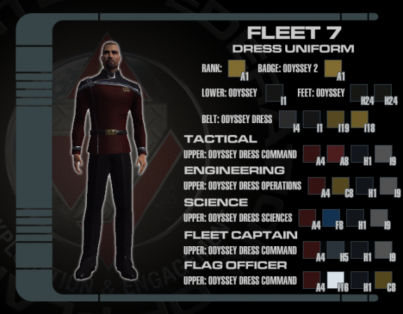 7th Fleet Dress Uniform