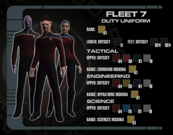 7th Fleet Duty Uniform